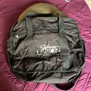 RARE Johnny Carson 25 Anniversary lg shoulder bag